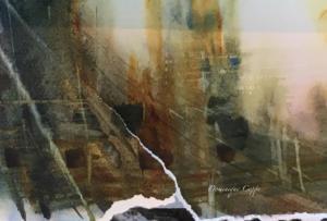 Fragment aquarelle Dominique Coppe