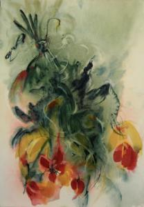 Renversement Aquarelle Dominique Coppe
