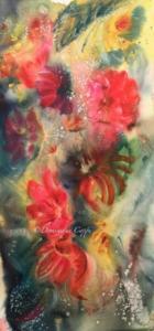 Fleurs aquarelle Dominique Coppe